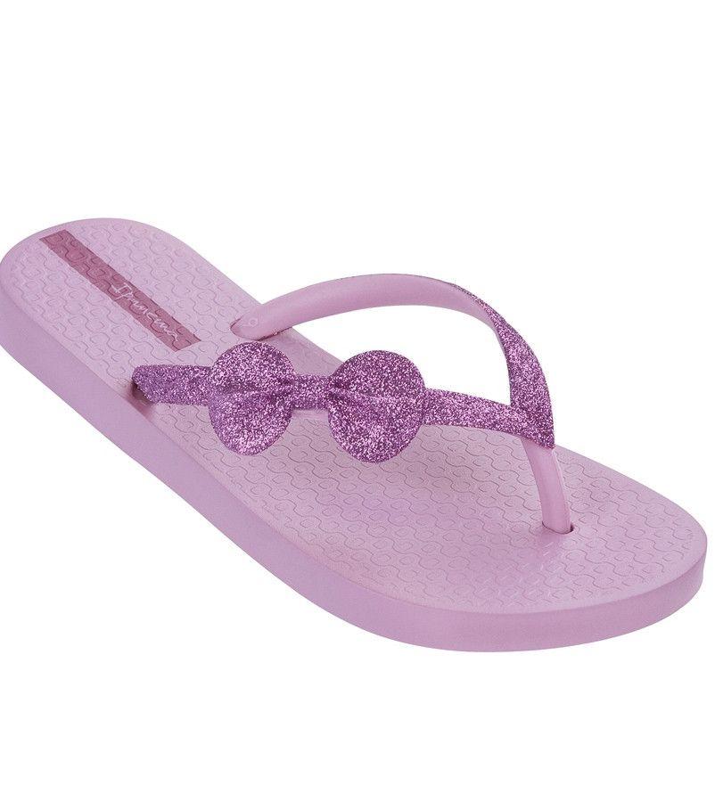 1e17f45997f Ipanema Glitter Kid Lilac Flip Flops