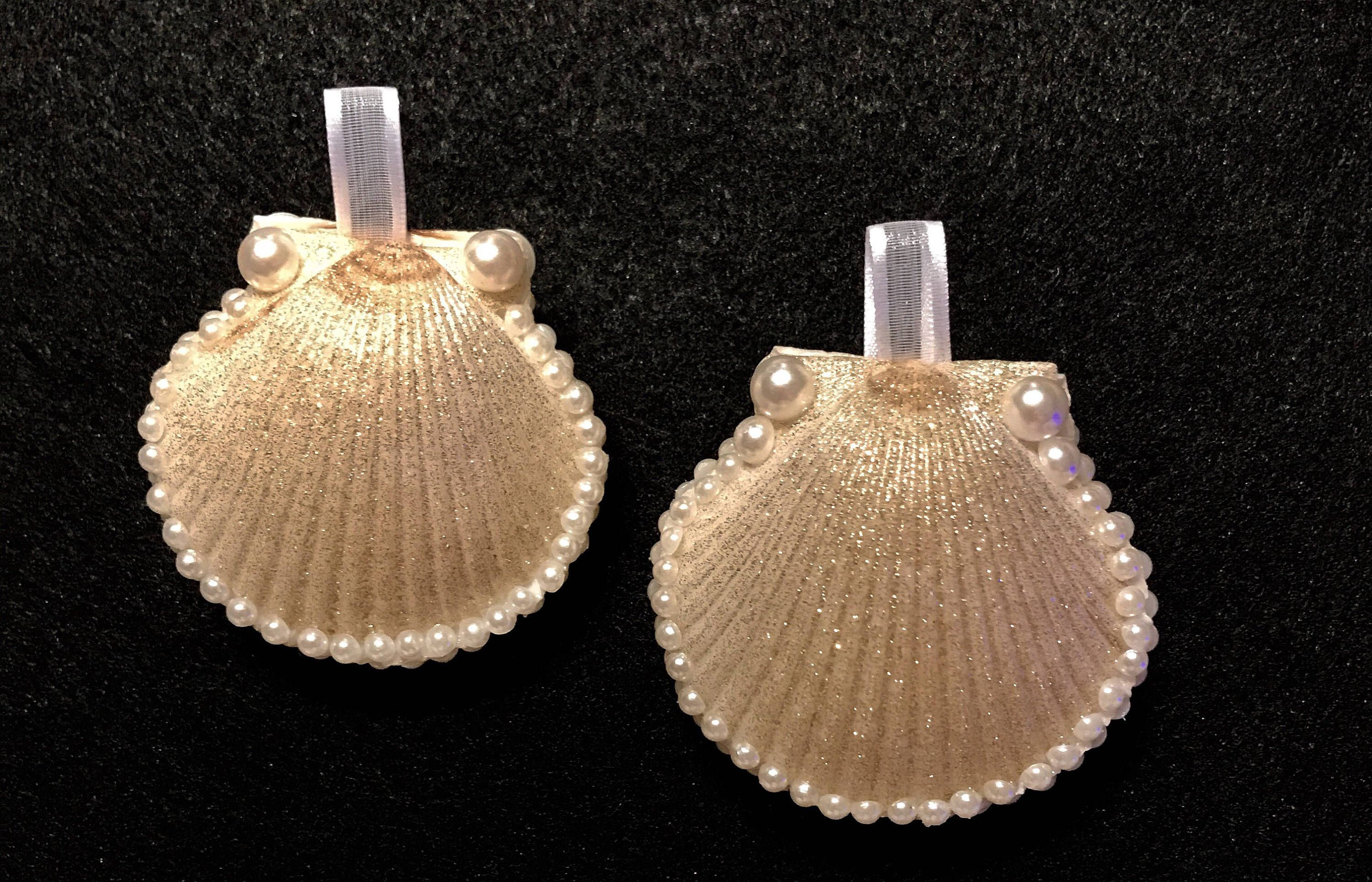 Seashell christmas ornaments - A Personal Favorite From My Etsy Shop Https Www Etsy Com Seashellschristmas Ornamentetsy Shop