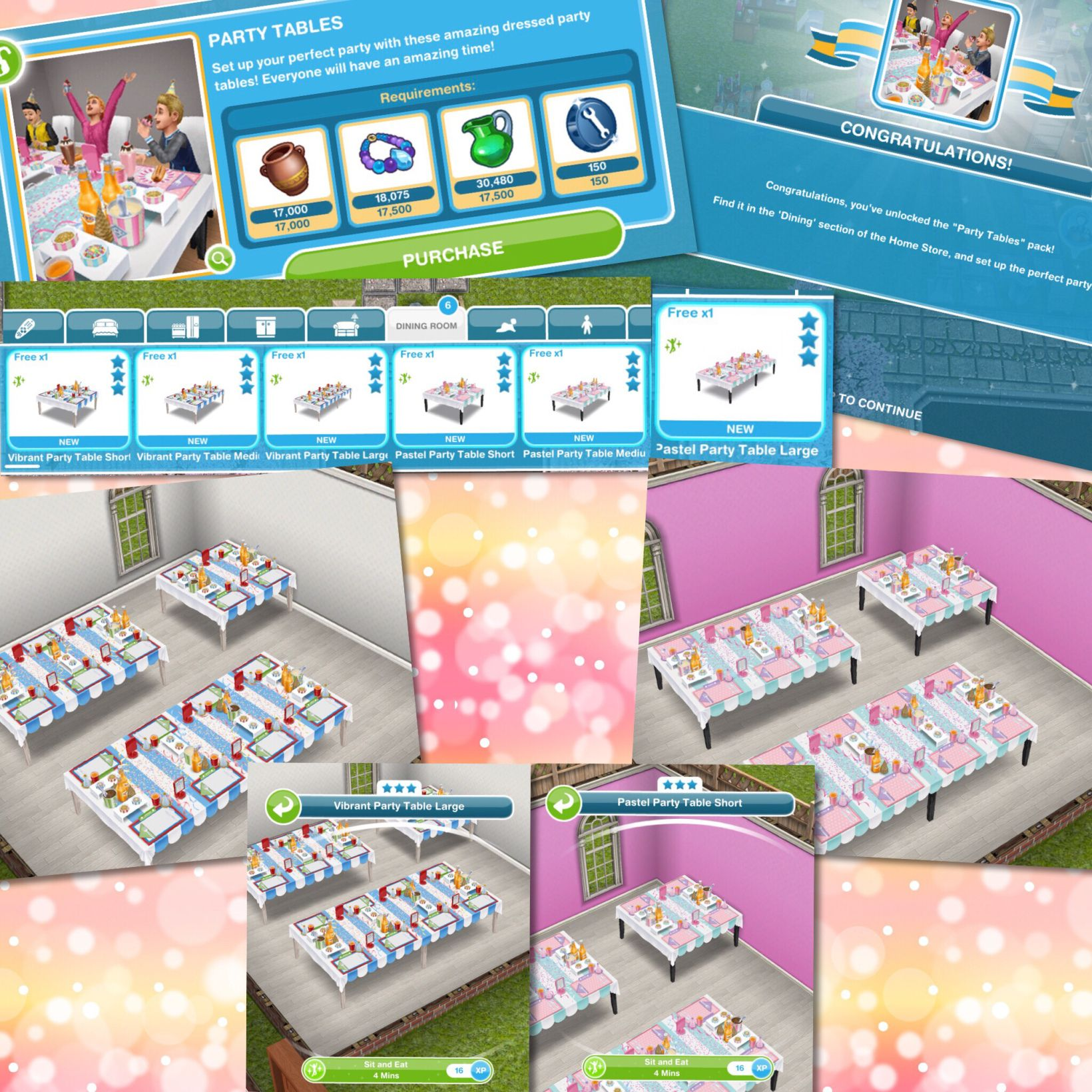 The Sims Freeplay Kids Party Live Event The Girl Who Games Sims Free Play Sims Kids Party