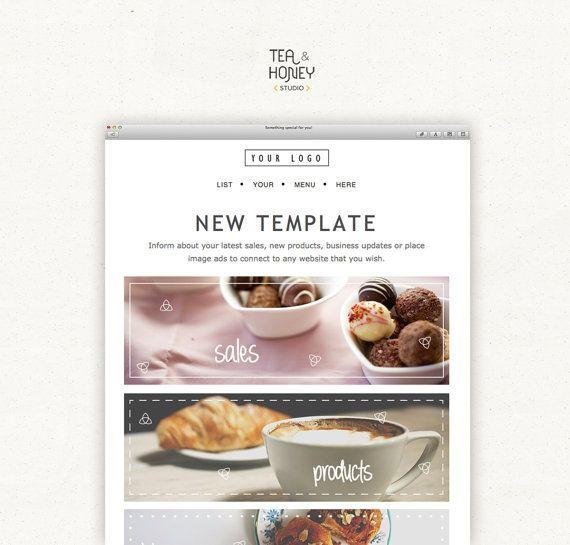 Mailchimp Email Newsletter Template, Modern Design HTML - free email newsletter templates word
