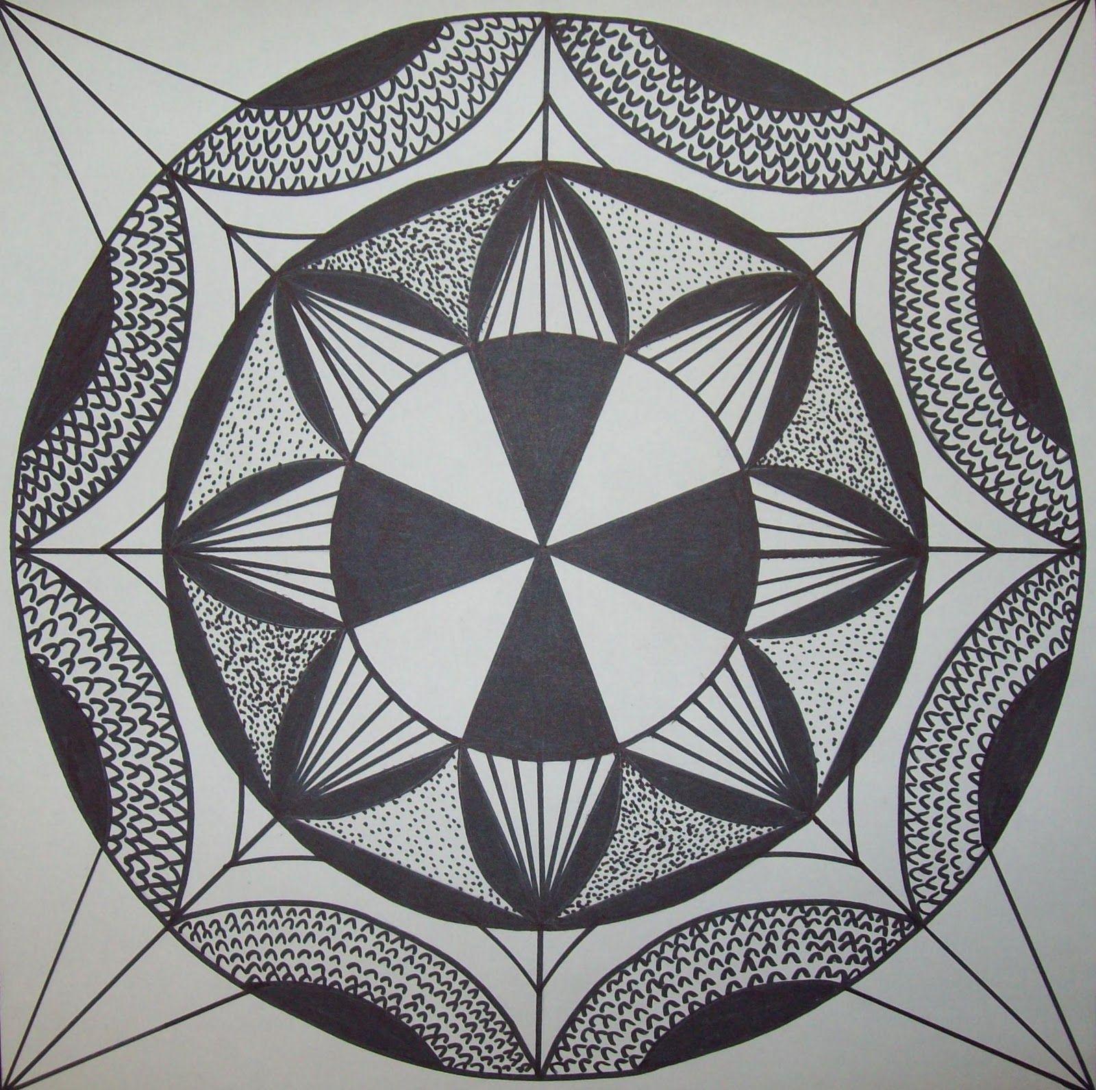 My Artful Nest I Heart Radial Symmetry