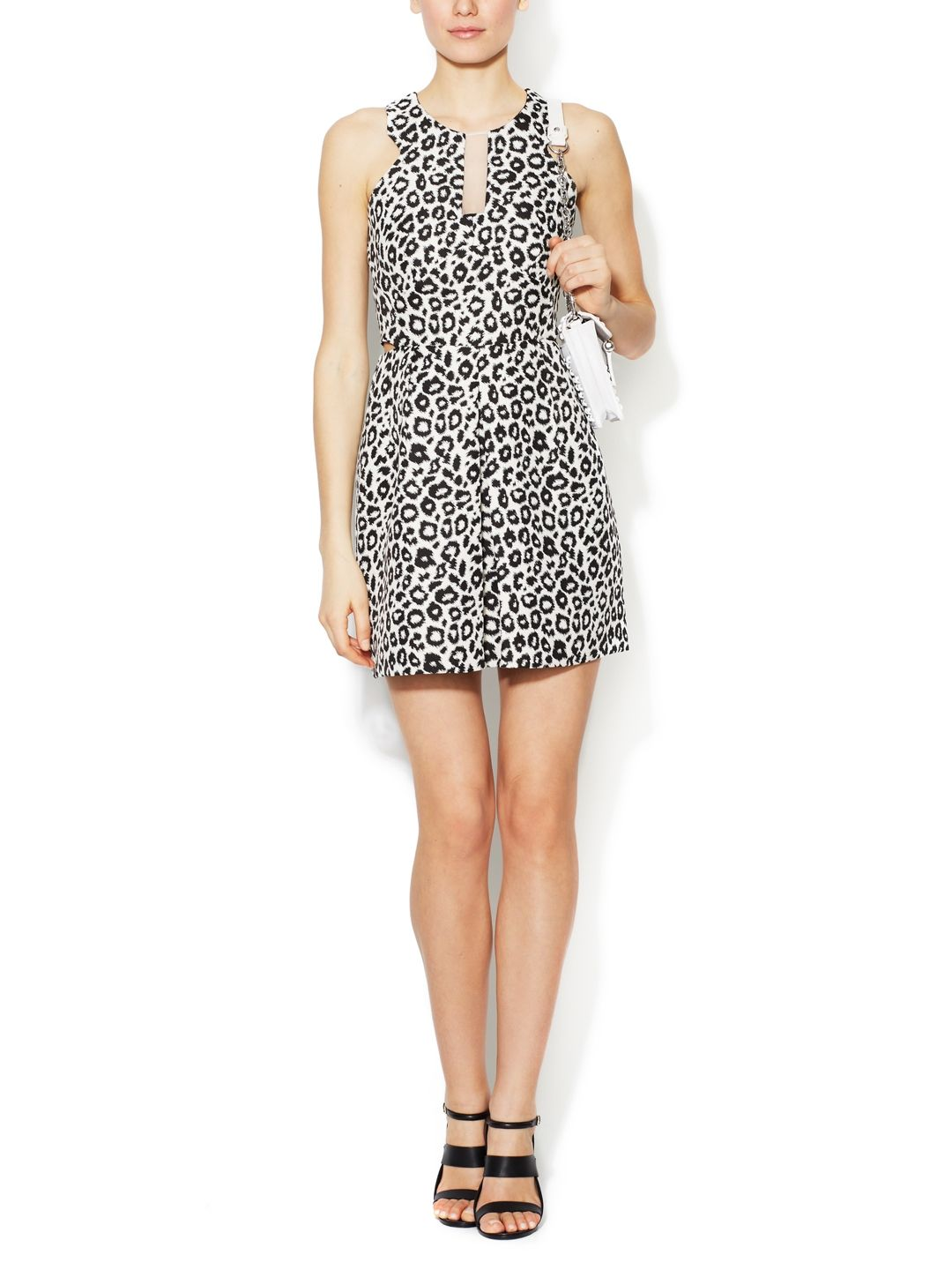 24720d38a6 Such a fun back! Meow! Reba Animal Print Dress by Walter at Gilt ...