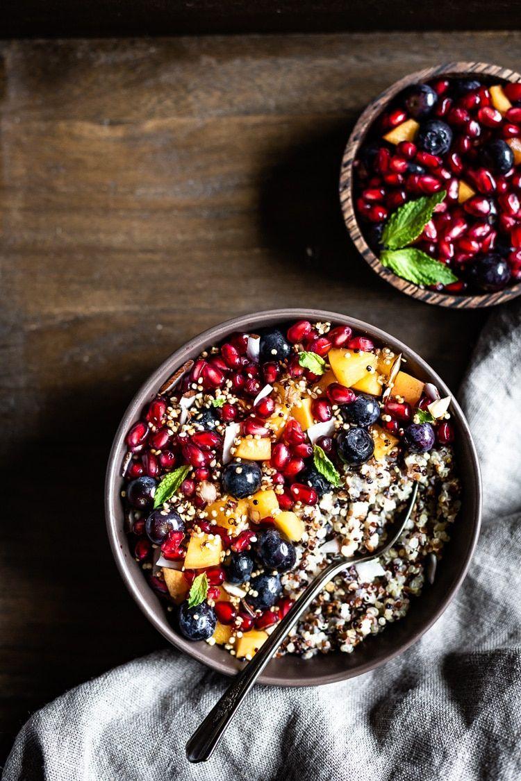 Quinoa Breakfast Porridge Vegan Gluten Free Recipe Breakfast Bowls Recipe Porridge Recipes Breakfast Bowls