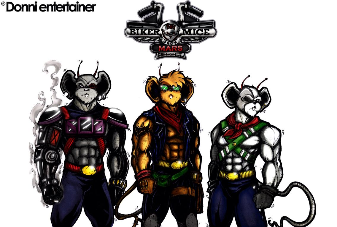 They Are Soo Cool Biker Mice From Mars With Images