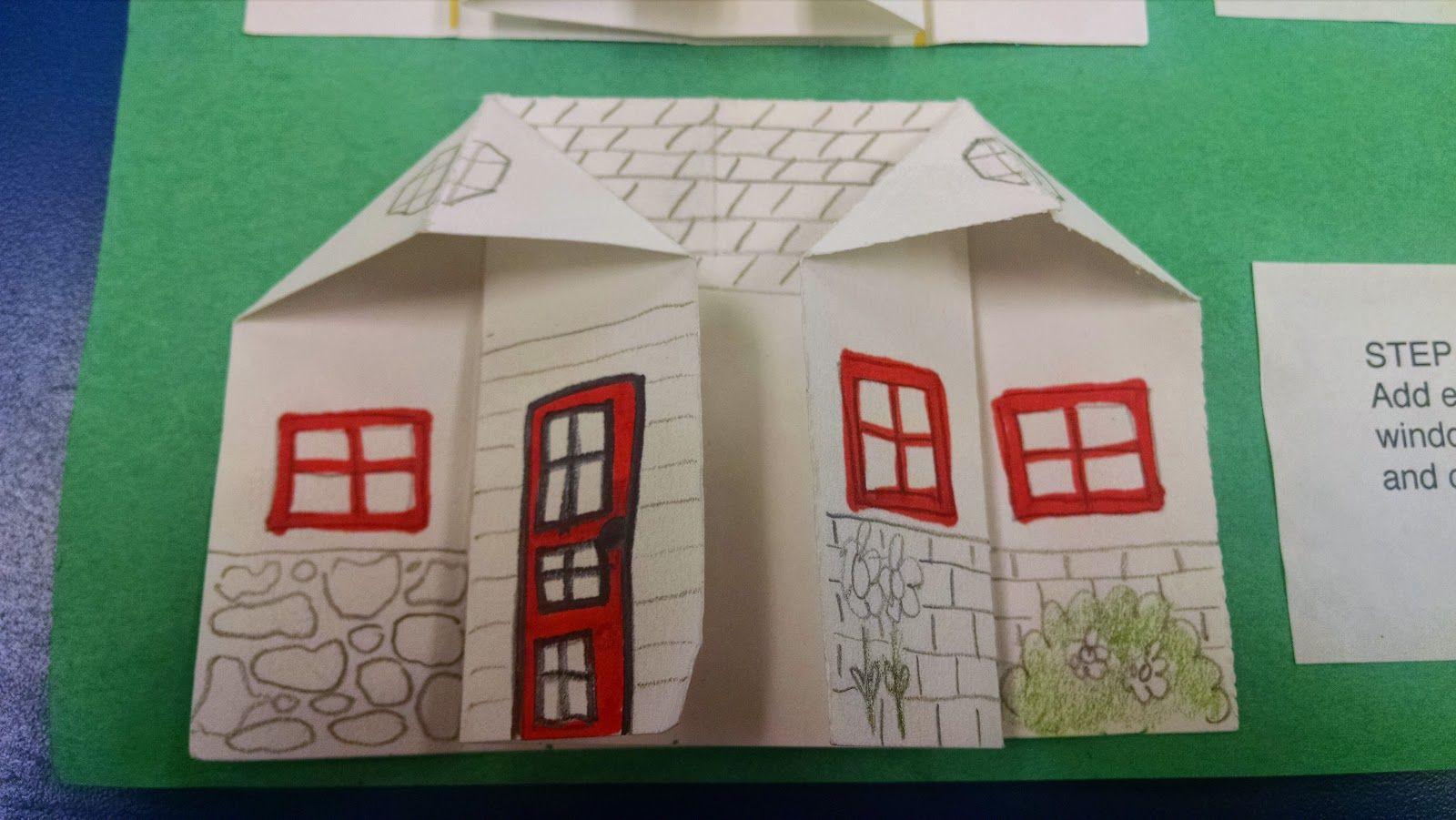 Art Teacher 101 First Grade Origami Neighborhoods