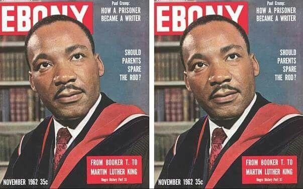 MLK on the cover of Ebony Magazine