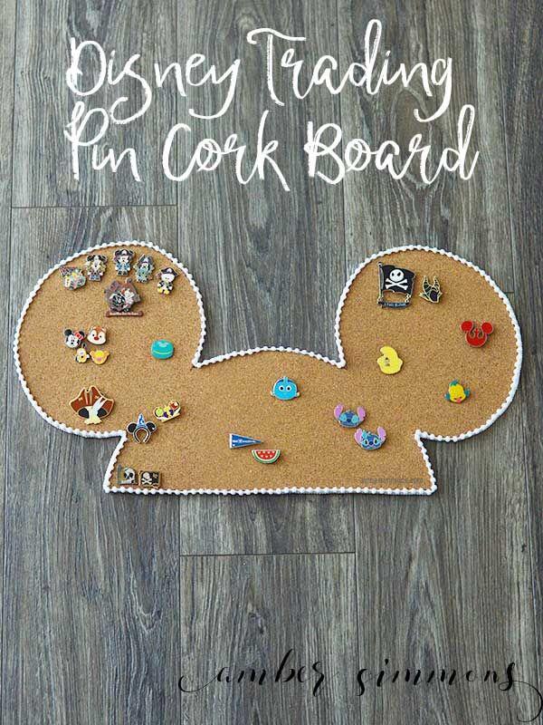 Disney Trading Pin Cork Board - Amber Simmons