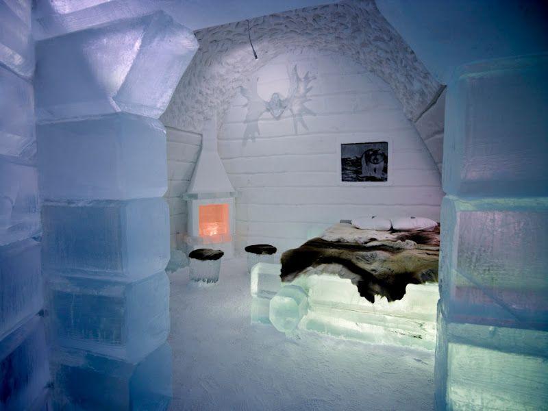 Ice Hotels (Quebec & Sweden)