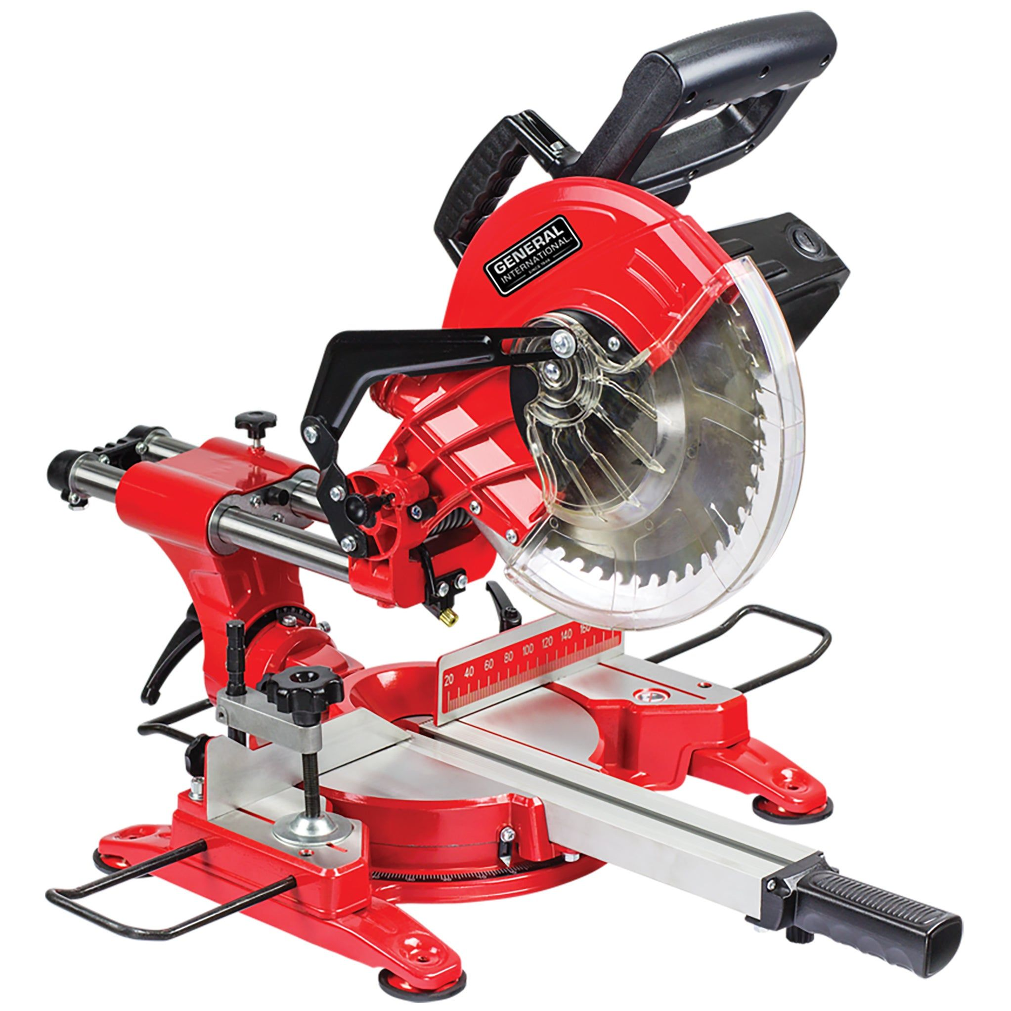 General International 10 Inch Sliding Miter Saw As Is Item Benchtop Tools Silver Sliding Mitre Saw Sliding Compound Miter Saw Miter Saw