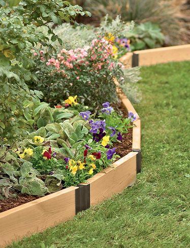 Aluminum Corner Brackets For Diy Raised Garden Beds Gardeners Com Vegetable Garden Raised Beds Raised Garden Diy Raised Garden