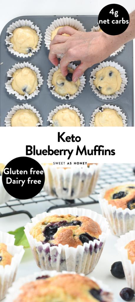 Keto Coconut Flour Blueberry Muffins Ketomuffins Bluberrymuffins Blueberry Keto Blueberry Muffins Coconut Flour Blueberry Muffins Low Carb Recipes Dessert