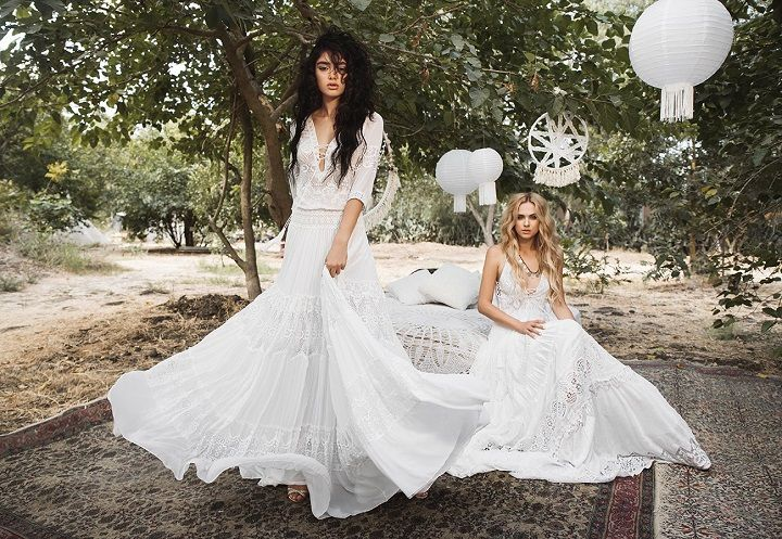 Inbal Raviv 2017 Wedding Dresses { White Gypsy bridal collection }