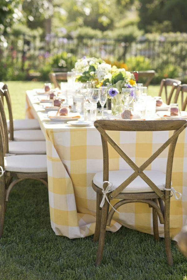 101 idées pour la nappe de table, un accessoire indispensable ...