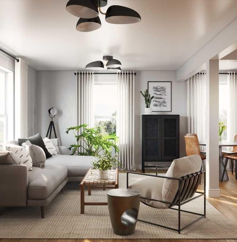Modern Bohemian Living Room Design By Emily Bohemian Living Room Interior Design Room Design