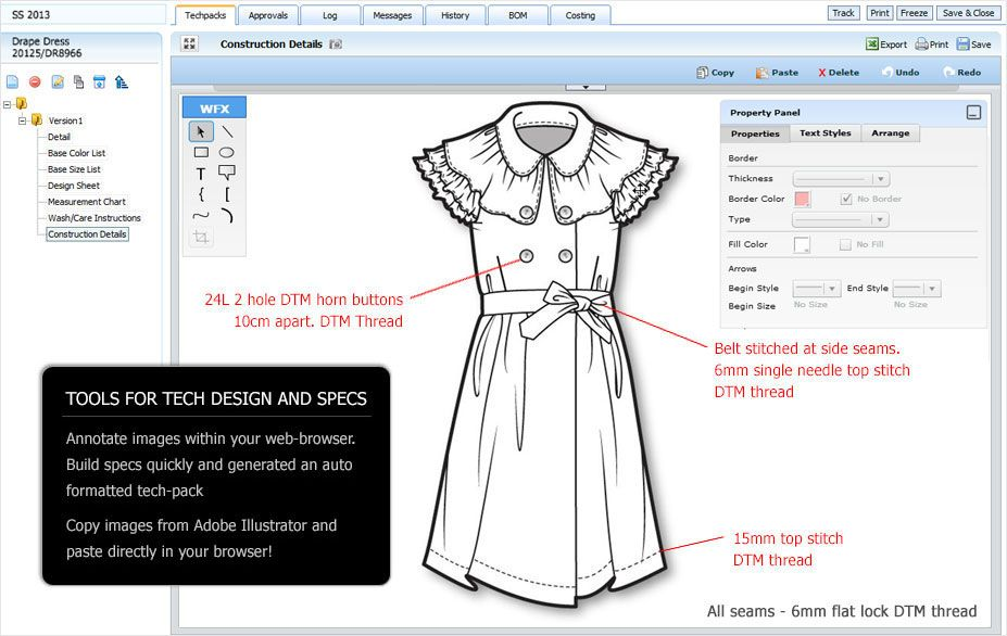 Wfx On Demand Provides Apparel Pdm Software For Fashion Helping Sharing And Collaboration With Internal Teams And Fashion Software Fashion Help Online Clothing