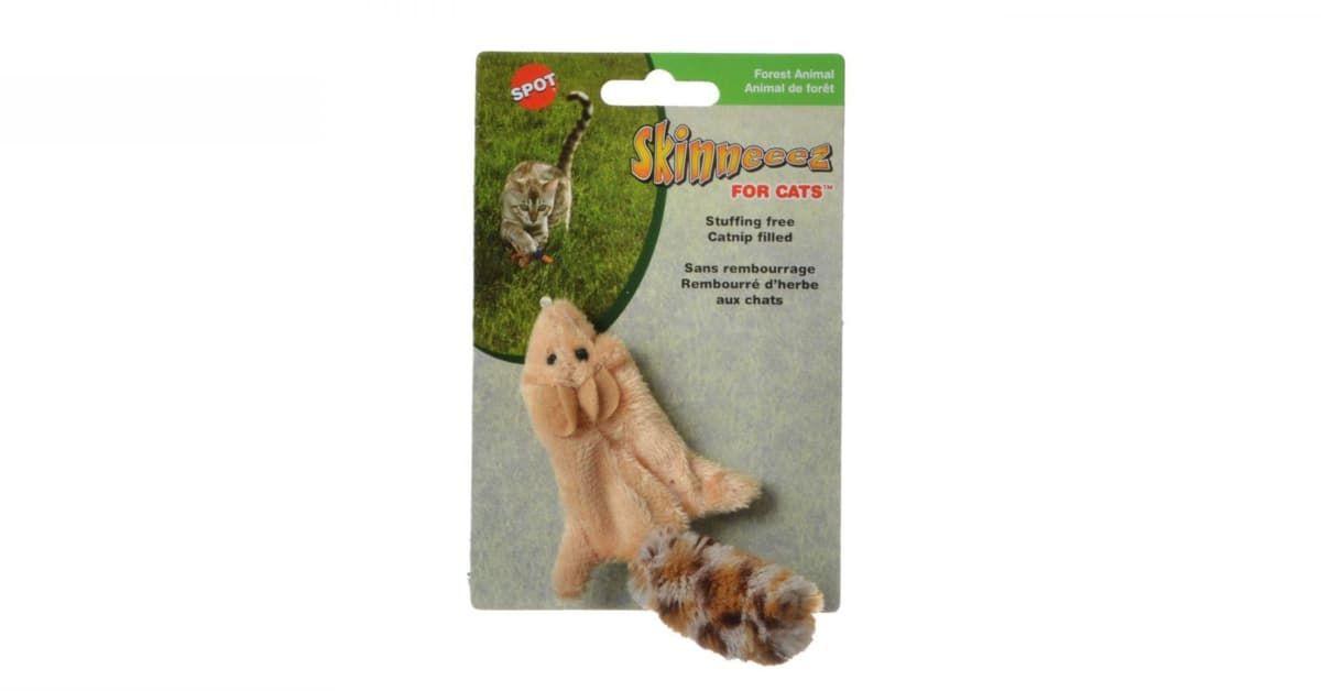 Spot Skinneeez Squirrel Cat Toy 2680 In 2020 Cat Toys