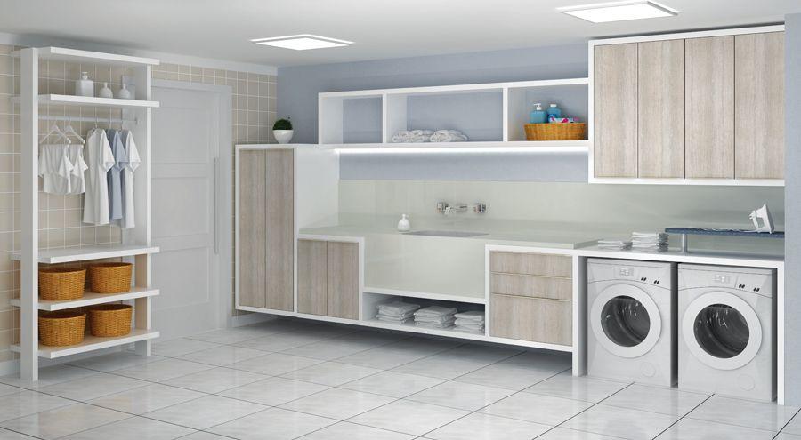 Resultado de imagem para lavanderia moderna arquitetura