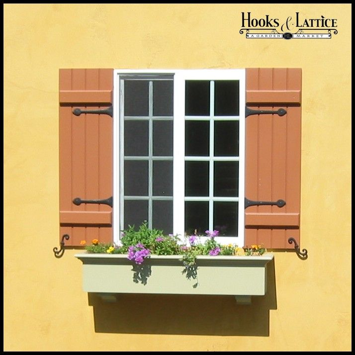 When making your exterior shutter choices the main considerations ...