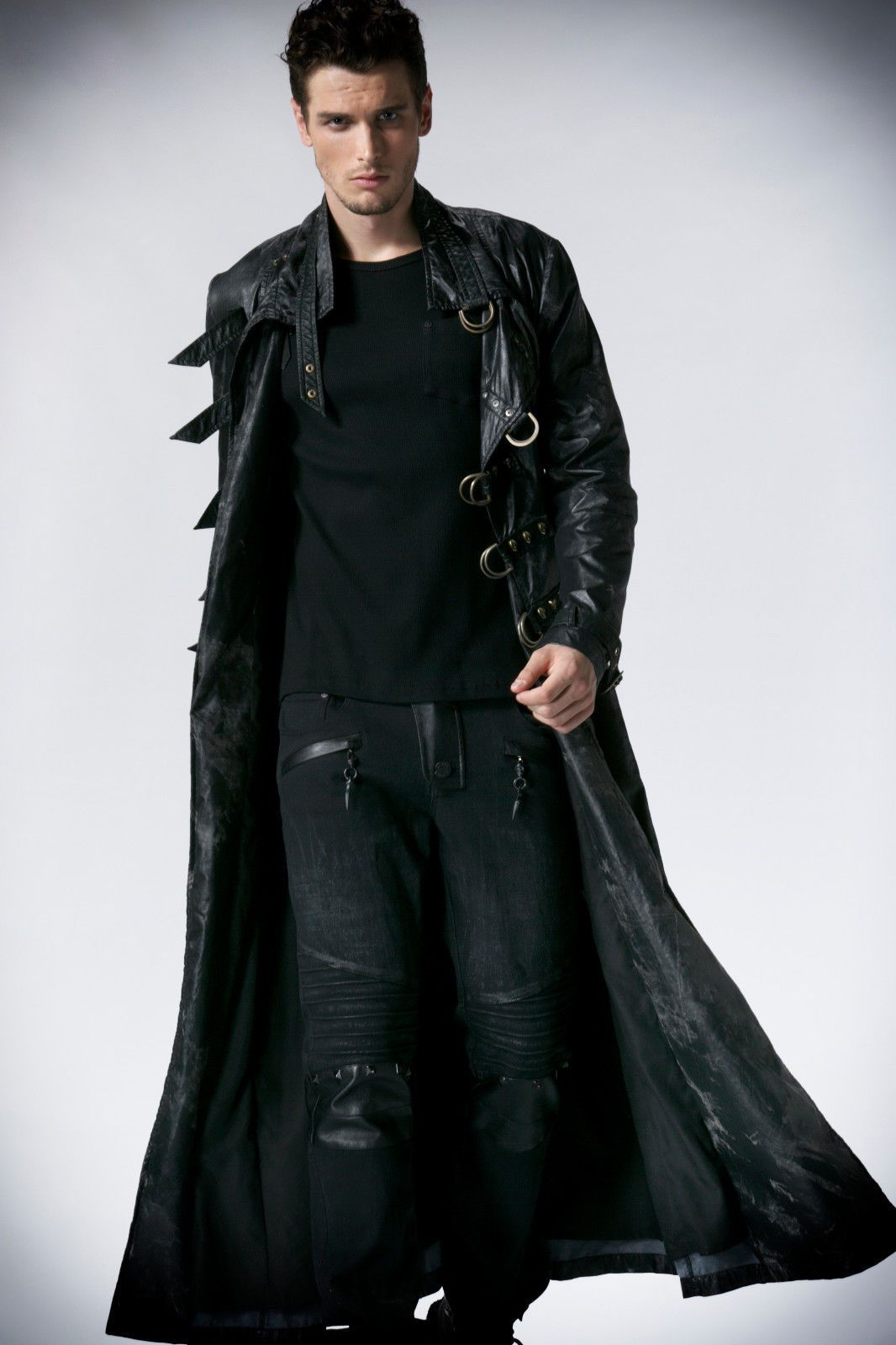 I must admit I love this look especially for an assassin shifter or vampire...or a an ...