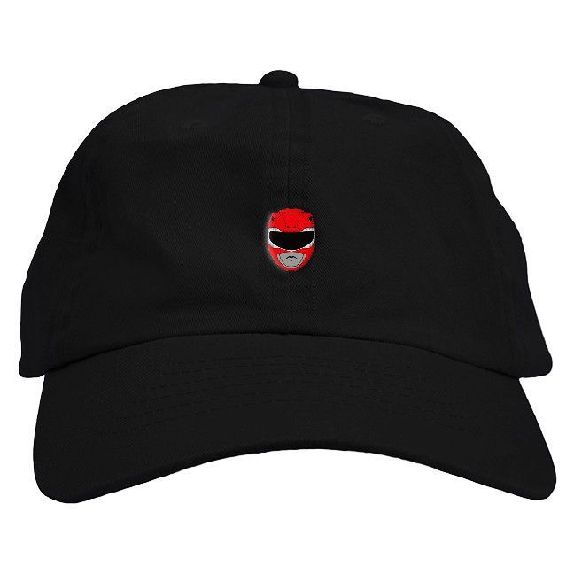 4f8b0902b Power Rangers Red Dad Hat – Fresh Elites | Dad Hats | Baseball hats ...