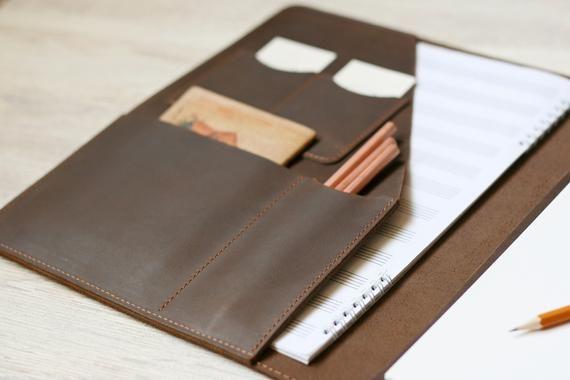 Portfolio A4 Leather Doent Holder