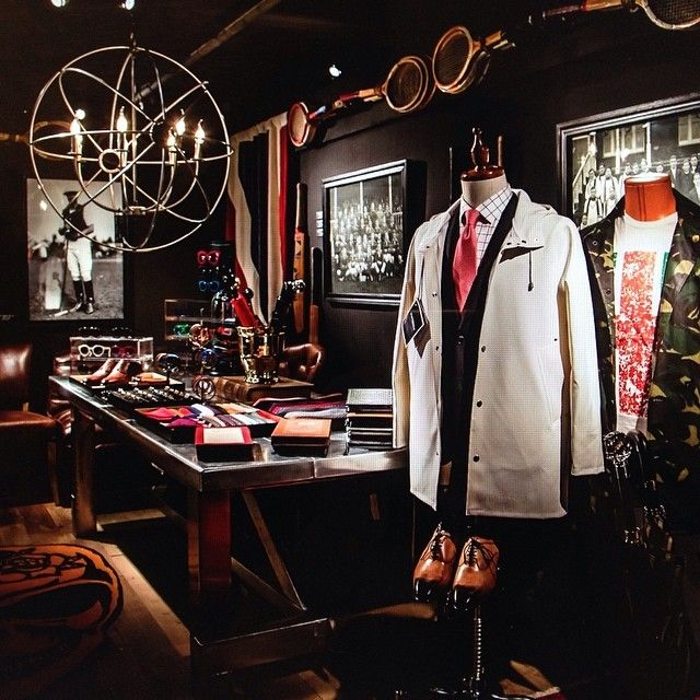 IL MEN X Timothy Oulton Gentlemen's evening! #timothyoulton #gentlemen #ilmen #ilsarto #skultuna #stutterheim #passoti #johnhenric #borgioli #shoes #raincoat #cufflinks #display #design #fashion #hk #camouflage #italiaindependent #tailor #suit #skull...