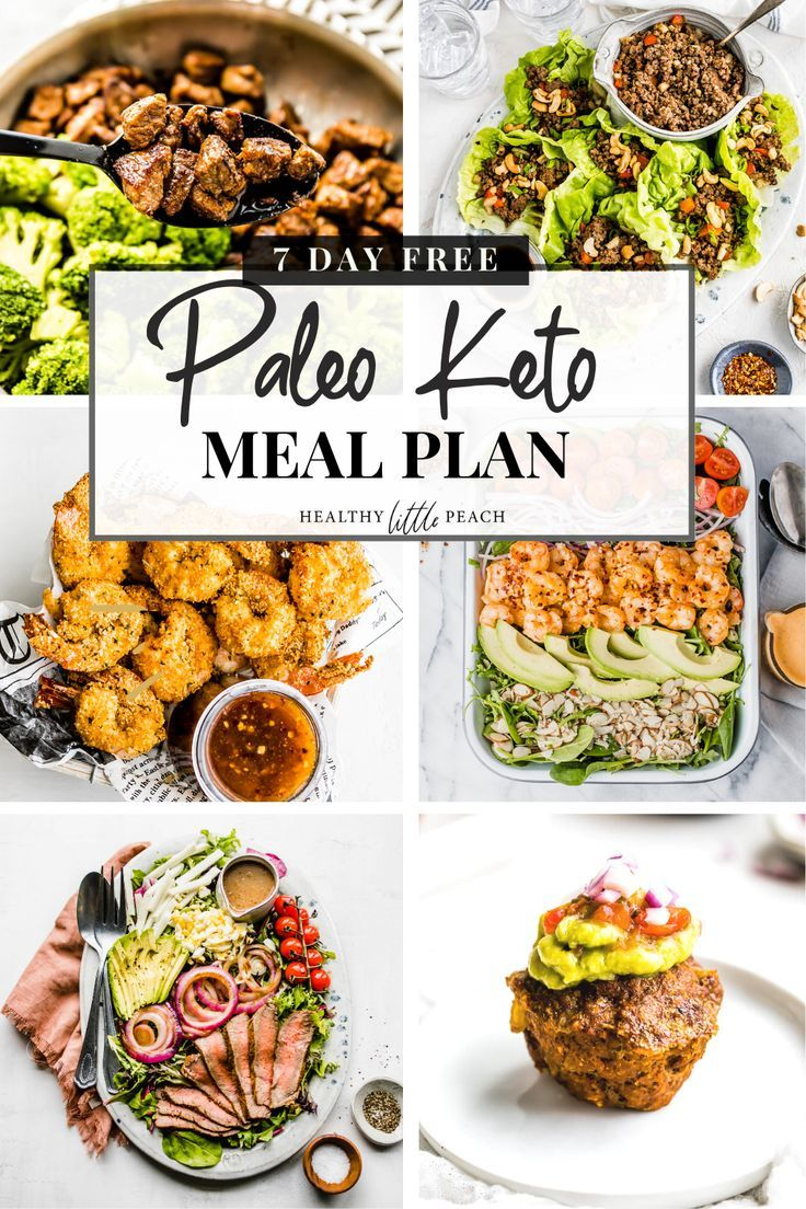 Free paleo keto 7day meal plan in 2020 paleo meal plan
