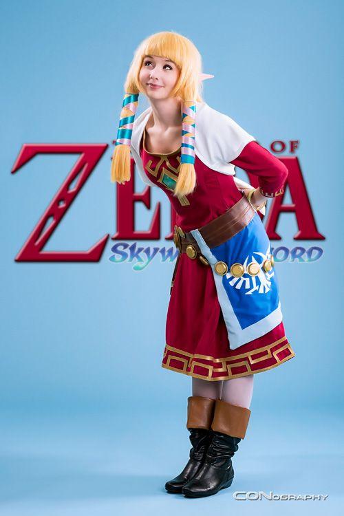 Skyward Sword Princess Zelda Cosplay Cosplay Cosplay