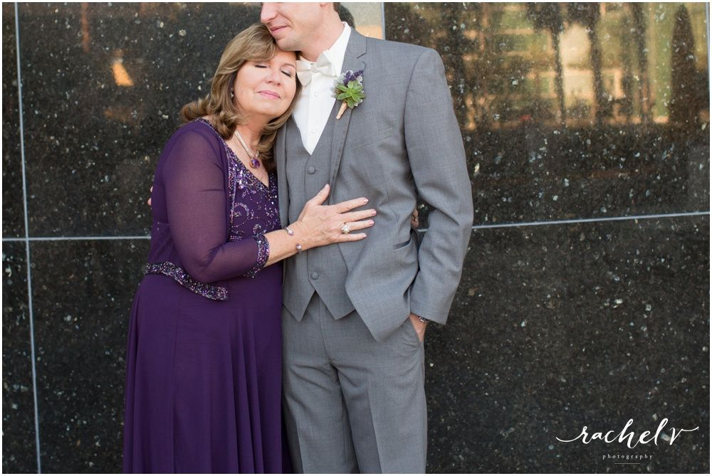 A mothers love on her son's wedding day
