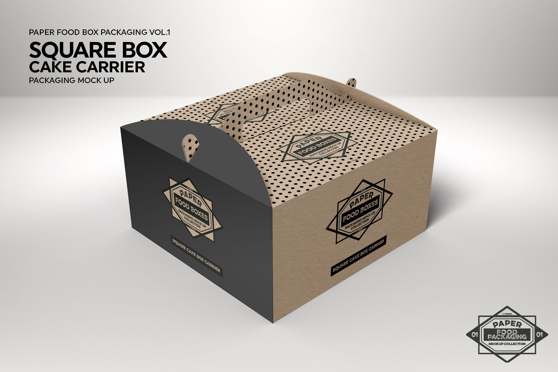 Download Vol 1 Food Box Packaging Mockups 64683 Branding Design Bundles Free Packaging Mockup Design Mockup Free Packaging Mockup