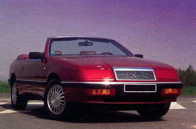 The 1992 chrysler lebaron fire engine red wblack rag top the 1992 chrysler lebaron fire engine red wblack rag top delivered dec sciox Image collections