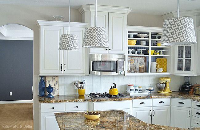 Navy And Yellow Spring Kitchen Nook Update Yellow Kitchen