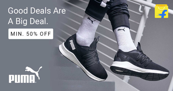 Deal Of The Day Puma Shoes at Flipkart