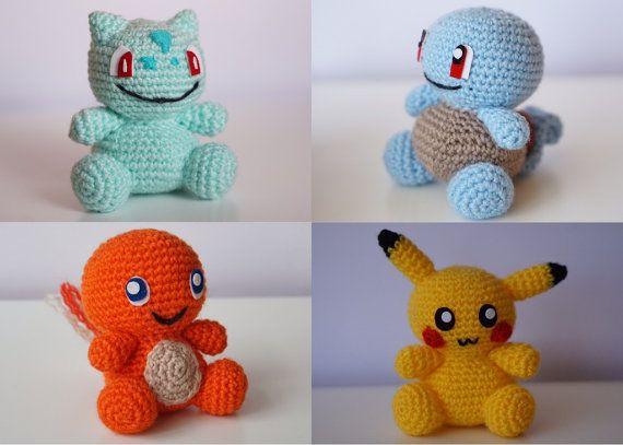 Awesome Crochet Pokemon Roundup! | Pokemon crochet pattern ... | 407x570