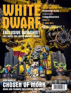 White Dwarf Weekly número 21 de junio