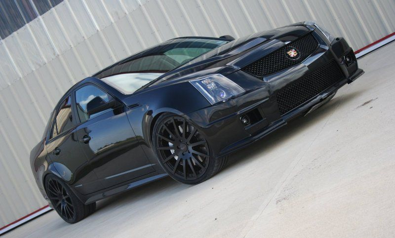 Blacked Out Cadillac Cts-v