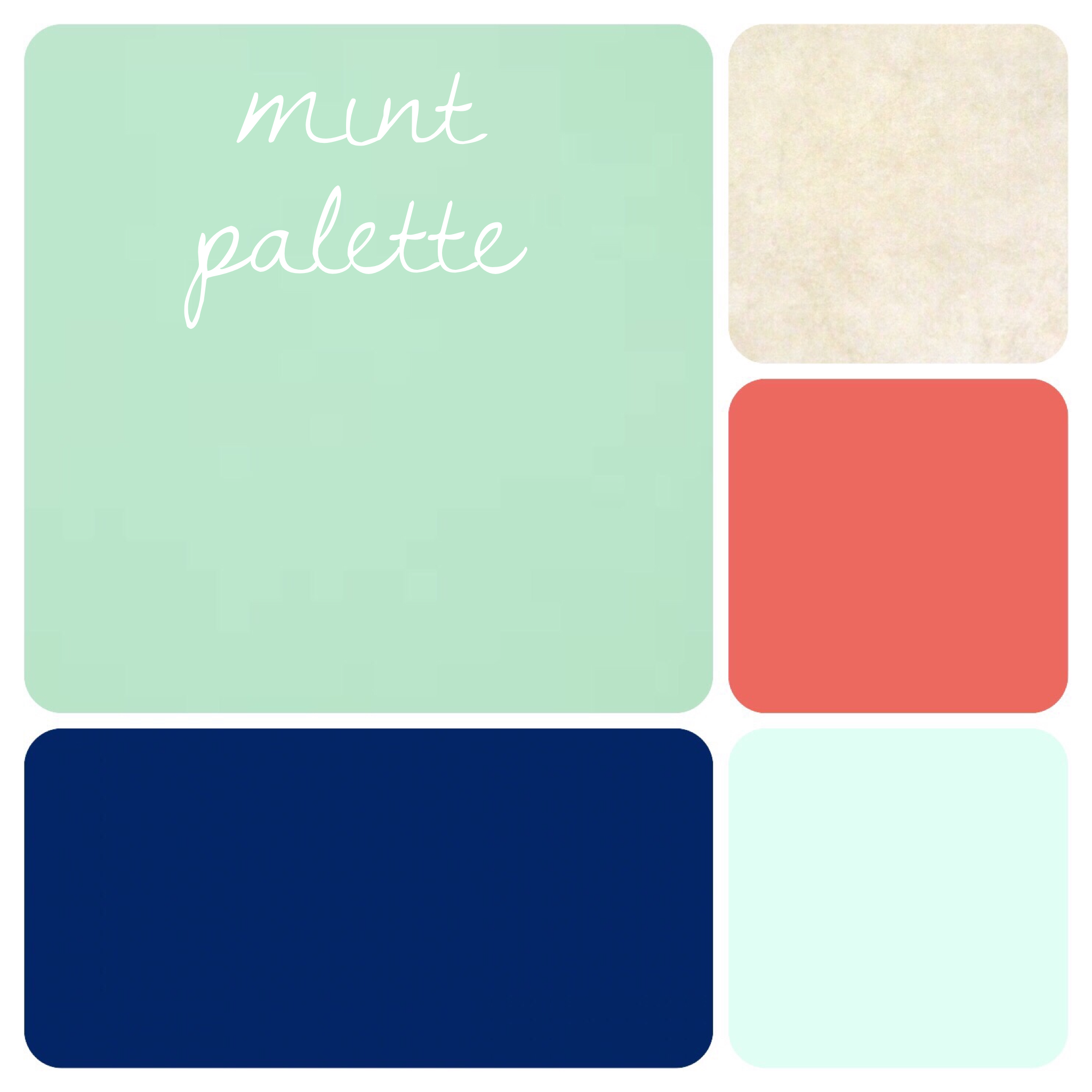 Mint Green Color Palette Beautiful Navy Dark Coral Sea Foam And Tan Are The Perfect Pairs For A Mint Color Palettes Green Colour Palette Mint Green Bedroom