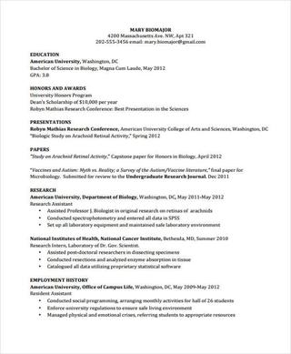 Pdf Doc Free Premium Templates In 2020 Curriculum Vitae Template Curriculum Vitae Examples School Template