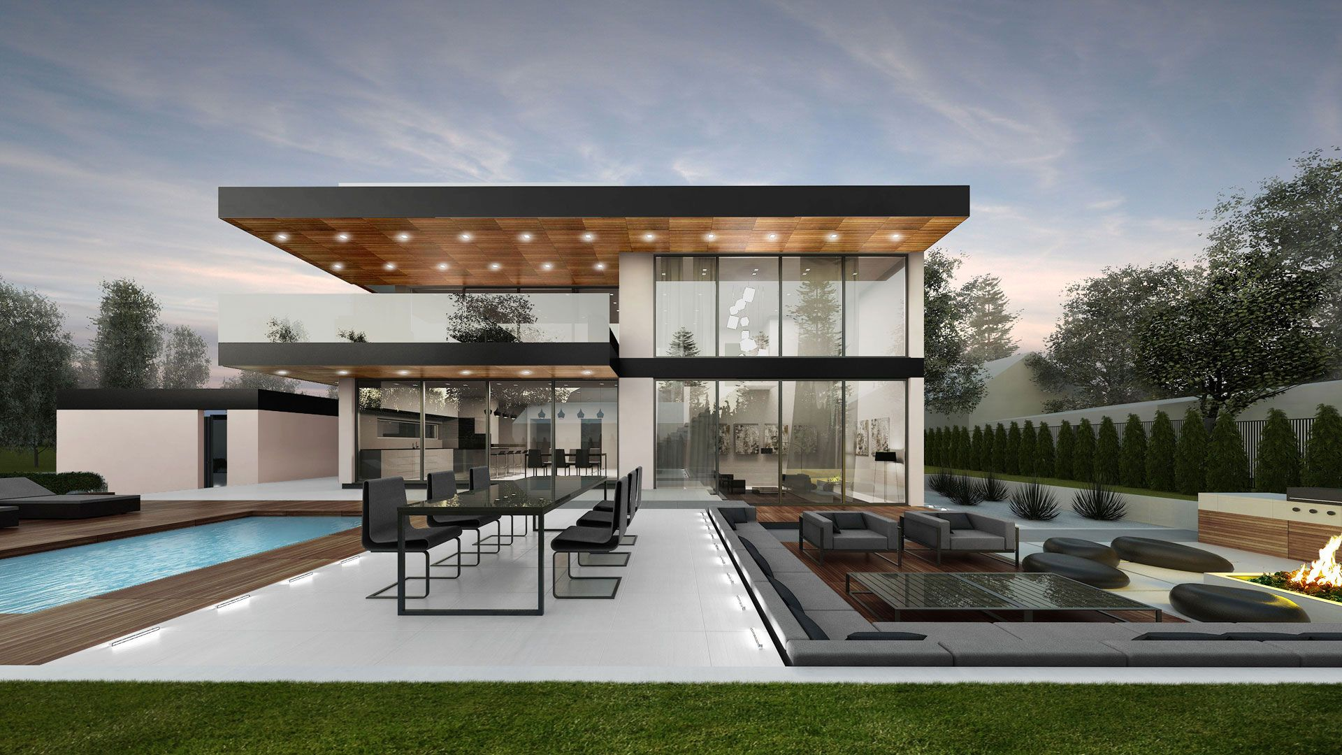 Villa F In Stockholm 1 Modern House Design House Design Home Building Design