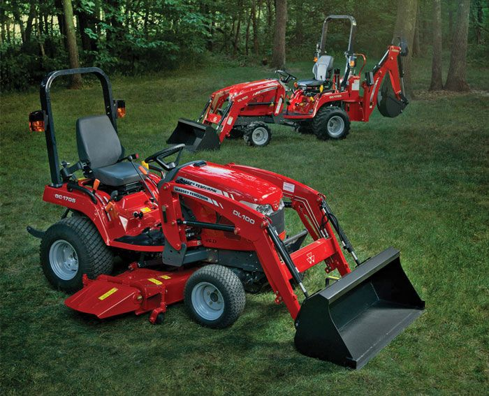 Massey Massey Pictures Compact Tractors Small