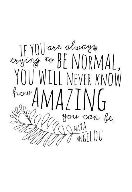 Maya Angelou How Amazing You Can Be Inspirational Art