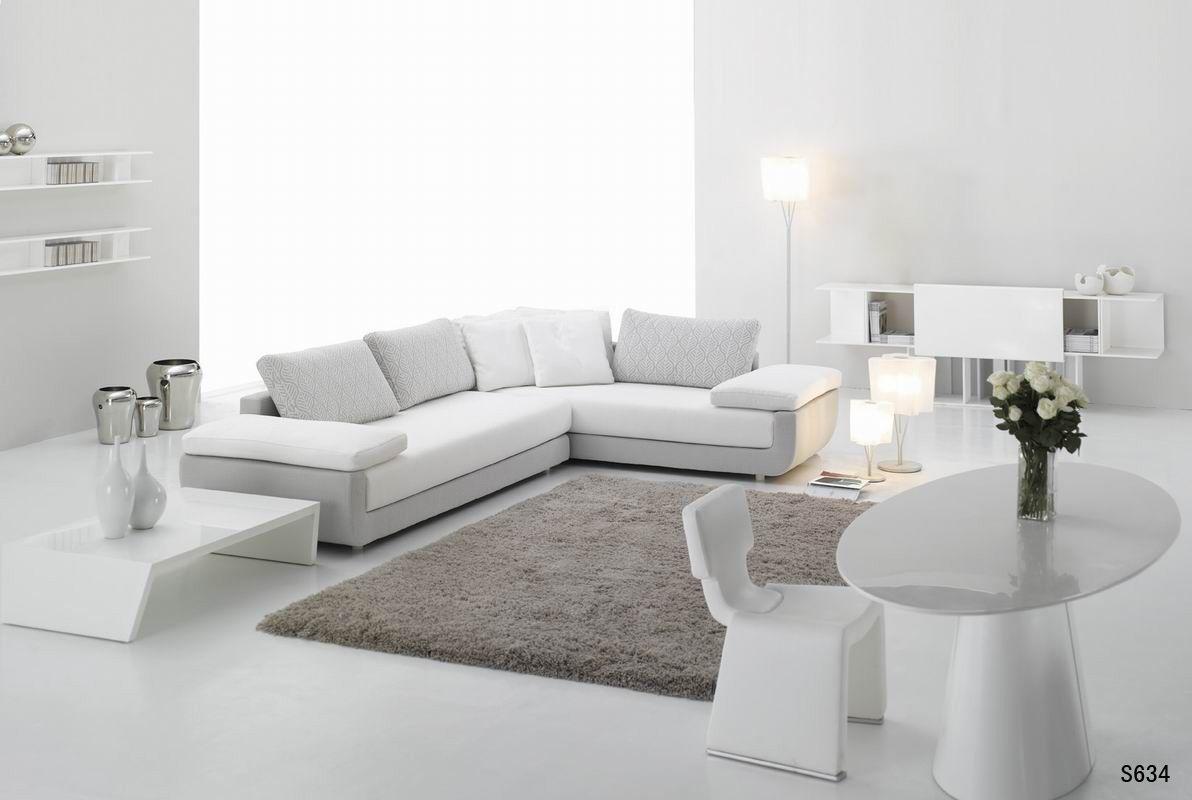 White Leather Sofa Simply Casa us SIMPLY SOFA Contemporary living room modern living room White contemporary sofa