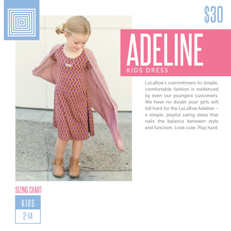 Lularoe Adeline Sizing Chart 2018