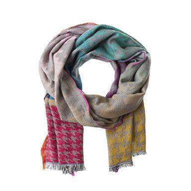 CODELLO Schal mit Farbverlauf und Hahnentrittmuster online kaufen | OTTO