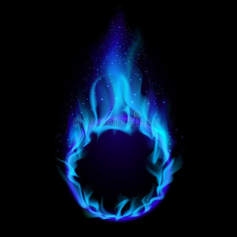 Blue Flame Ring Flame Blue Flame Circle Png Transparent Clipart Image And Psd File For Free Download Cahaya Bercahaya Kilat
