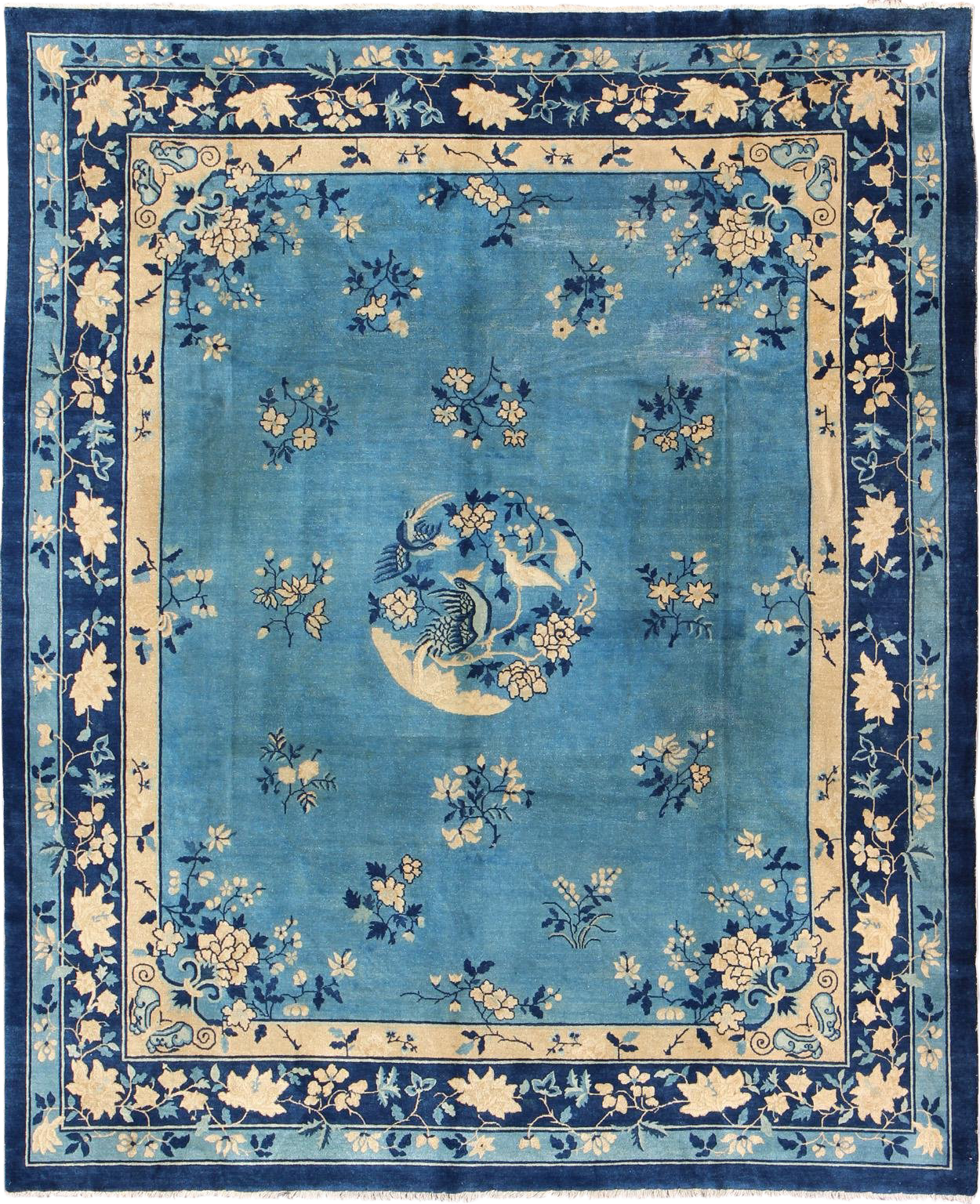 Keivan Woven Arts L11 0807 Early 20th Century Antique Chinese Peking Rug 9 10 11 8 In 2020 Asian Rugs Rugs Antiques