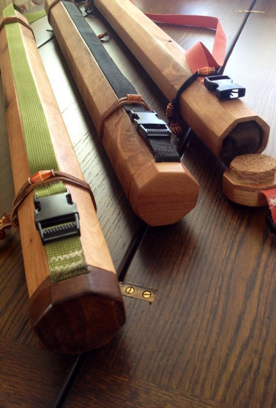 Fly Rod Case Alder 30 4 section rod case. by Reelrodcases