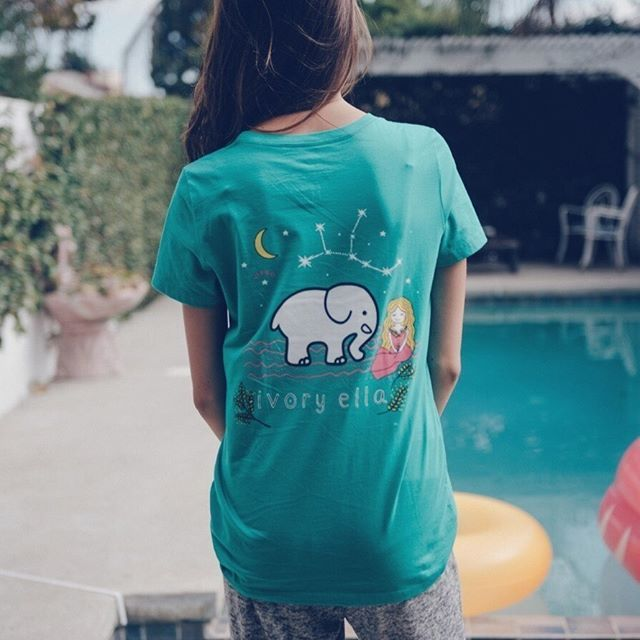 569f827e592c Ivory Ella Vivid Green Virgo T-Shirt