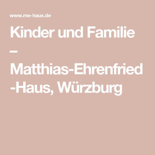 Matthias Komm Kinder