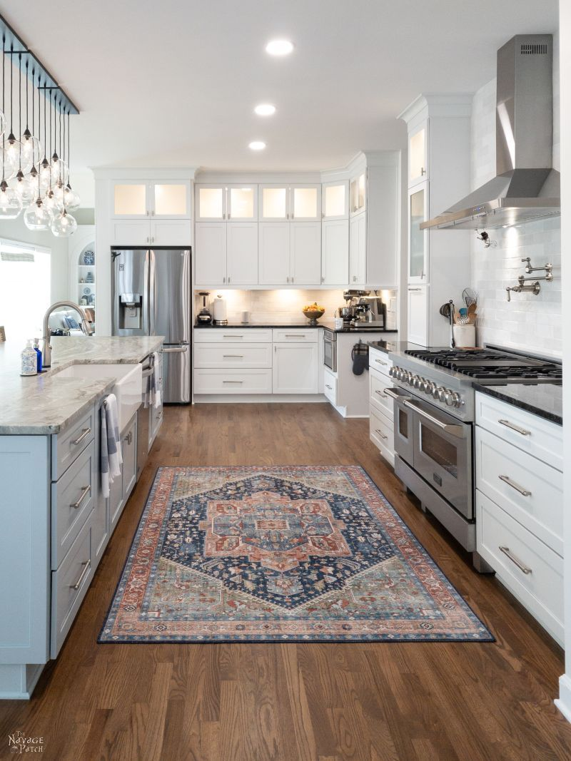 kitchen remodel reveal in 2020 kitchen remodel kitchen with long island fancy kitchens on kitchen remodel under 5000 id=27238